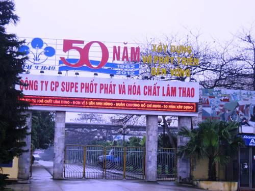 Công ty Cổ phần Supe Phốt phát và Hóa chất Lâm Thao: Viết tiếp trang sử truyền thống đầy vẻ vang